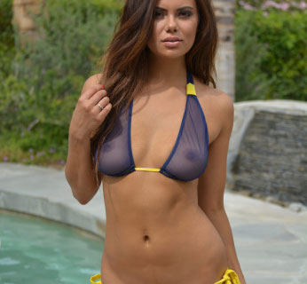 Swim Bikini wear sheer