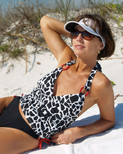 accent rouge bathing suit tankini brigitewear
