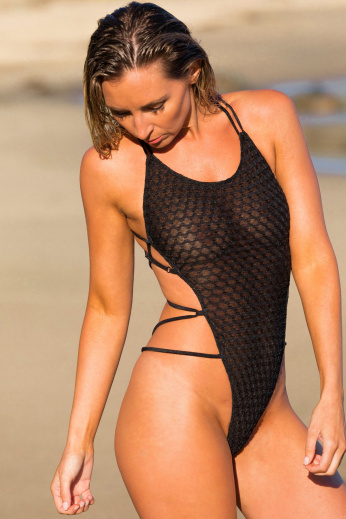 Aphrodisiac Sheer One Piece