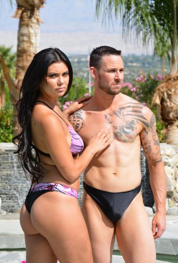 avalon thong bikini swimsuit designed for active wear brigitewear