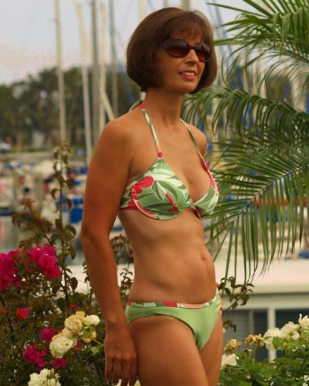 belle fleur bikini rio bottom swimsuit brigitewear
