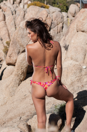 Desert Flower Thong Bottom
