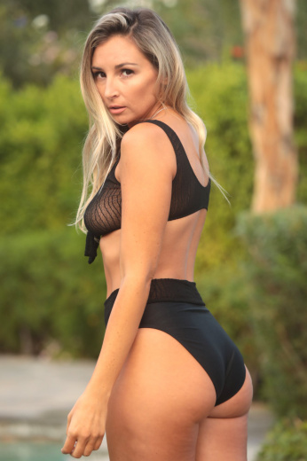 High Waist Rio Bottom Black
