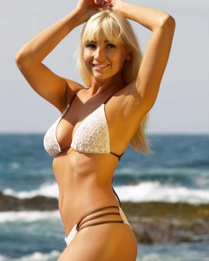 islander bikini sheer top brigitewear