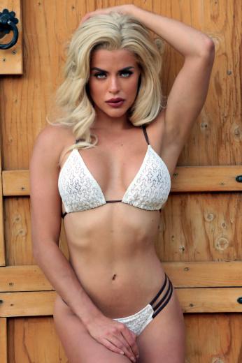 Islander Bikini Vanilla Lace top