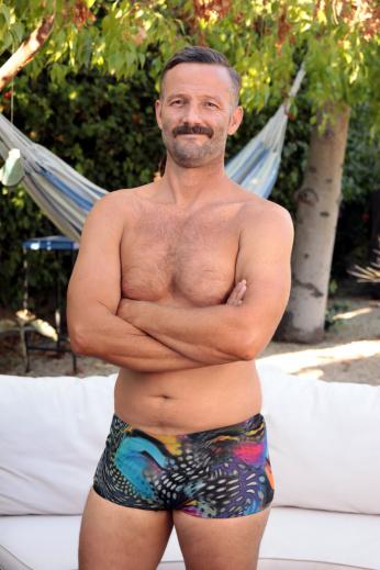 Mens Low Cut Shorts in Aquarius