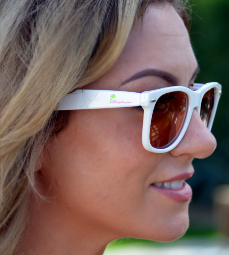 Retro Sport Sunglasses - White