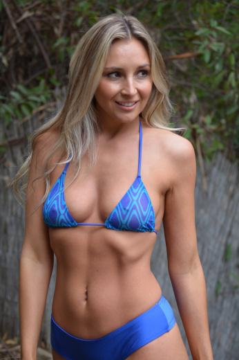 Sheer see through bikini swimsuit top
