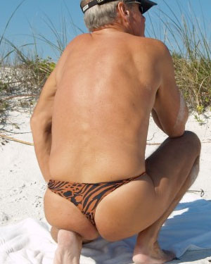 safari men's thong swimsuit brigitewear