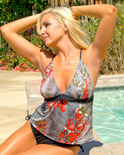 smoking hot sexy tankini bathing suit for women by brigitewear