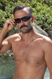 HD Sunglasses Black Front