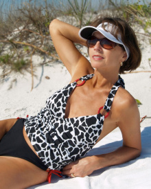 Accent Rouge Tankini Top | Brigitewear