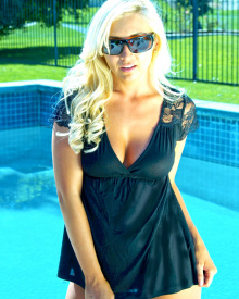 Black Lace Baby Doll | Brigitewear