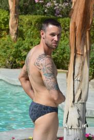Speedster Men's Swimsuit   Brigitewear