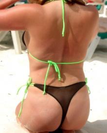 TanThru Tahitian Bikini Thong Bottom