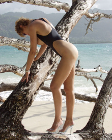 Versailles Topless Thong One Piece | Brigitewear